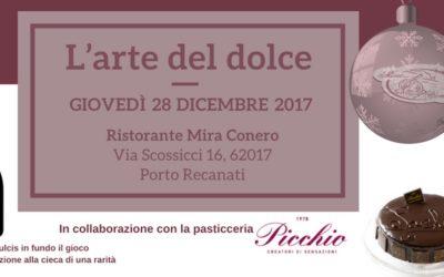 Serata pasticceria Picchio con abbinamento vini